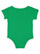 INFANT RETRO RINGER BODYSUIT Vintage Green/White Back