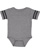 INFANT FOOTBALL BODYSUIT Granite Heather/Vintage Smoke