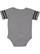 INFANT FOOTBALL BODYSUIT Granite Heather/Vintage Smoke Back