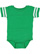 INFANT FOOTBALL BODYSUIT Vintage Green/Blended White