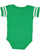 INFANT FOOTBALL BODYSUIT Vintage Green/Blended White Back