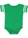 INFANT FOOTBALL BODYSUIT Vintage Green/Blended White Open