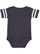 INFANT FOOTBALL BODYSUIT Vintage Navy/Blended White Back