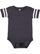 INFANT FOOTBALL BODYSUIT Vintage Navy/Blended White Open