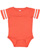 INFANT FOOTBALL BODYSUIT Vintage Orange/Blended White