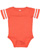 INFANT FOOTBALL BODYSUIT Vintage Orange/Blended White Open
