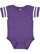 INFANT FOOTBALL BODYSUIT Vintage Purple/Blended White