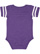 INFANT FOOTBALL BODYSUIT Vintage Purple/Blended White Back