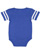 INFANT FOOTBALL BODYSUIT Vintage Royal/Blended White Back