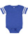 INFANT FOOTBALL BODYSUIT Vintage Royal/Blended White Open