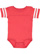 INFANT FOOTBALL BODYSUIT Vintage Red/Blended White