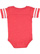 INFANT FOOTBALL BODYSUIT Vintage Red/Blended White Back