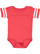 INFANT FOOTBALL BODYSUIT Vintage Red/Blended White Open
