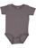 INFANT PREMIUM JERSEY BODYSUIT Charcoal