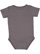 INFANT PREMIUM JERSEY BODYSUIT Charcoal Back