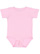 INFANT PREMIUM JERSEY BODYSUIT Pink Open