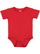 INFANT PREMIUM JERSEY BODYSUIT Red Open