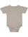 INFANT PREMIUM JERSEY BODYSUIT Titanium Open