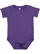 INFANT PREMIUM JERSEY BODYSUIT Vintage Purple Open
