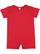 INFANT PREMIUM JERSEY T-ROMPER Red