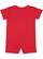 INFANT PREMIUM JERSEY T-ROMPER Red Back
