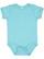 INFANT MELANGE JERSEY BODYSUIT Caribbean Melange Open