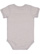 INFANT MELANGE JERSEY BODYSUIT Gray Melange