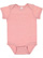 INFANT MELANGE JERSEY BODYSUIT Mauvelous Melange