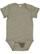 INFANT MELANGE JERSEY BODYSUIT Military Green Melange Open