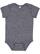 INFANT MELANGE JERSEY BODYSUIT Navy Melange