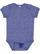INFANT MELANGE JERSEY BODYSUIT Royal Melange Open